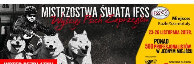 Pierwszy raz w Polsce – Mistrzostwa Świata Psich Zaprzęgów IFSS