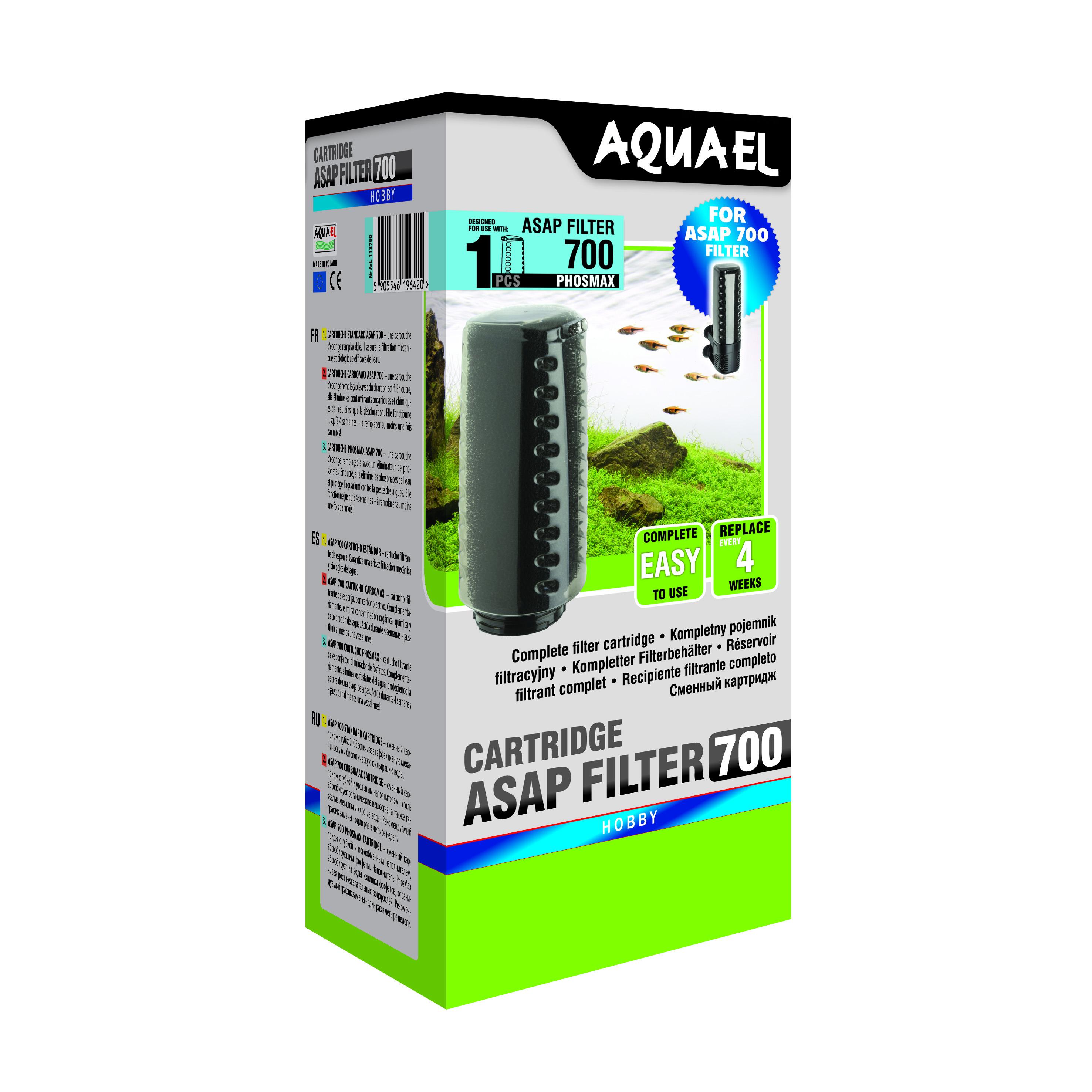 Wkłady gąbkowe do filtrów AQUAEL w nowej odsłonie!
