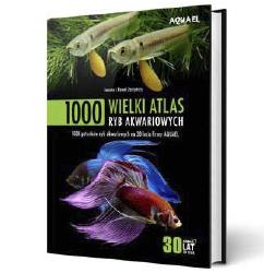 Wielki Atlas Ryb Akwariowych AQUAEL niezbędny wkażdym sklepie zoologicznym