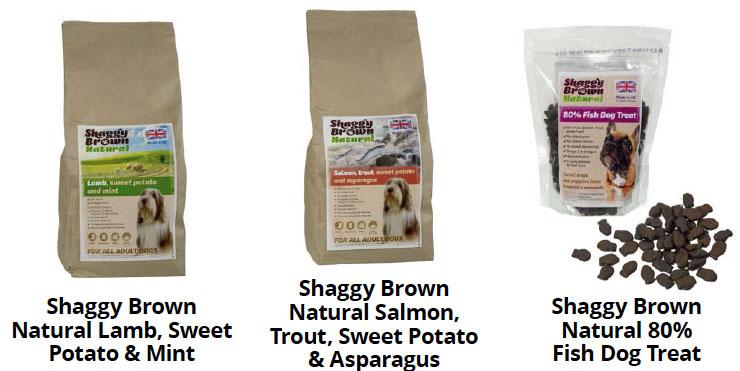 Shaggy Brown Natural Lamb, Natural Salmon, Natural 80%