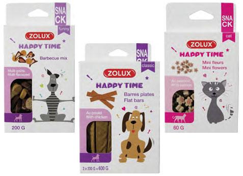 Przysmaki dla psów i kotów HAPPY PET od ZOLUX!