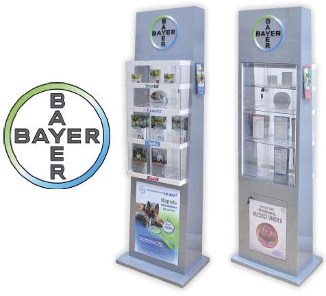 Nowe displaye od firmy BAYER!