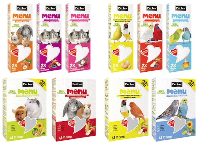 Nowe pokarmy ikolby dla królików, gryzoni iptaków wofercie PET INN!