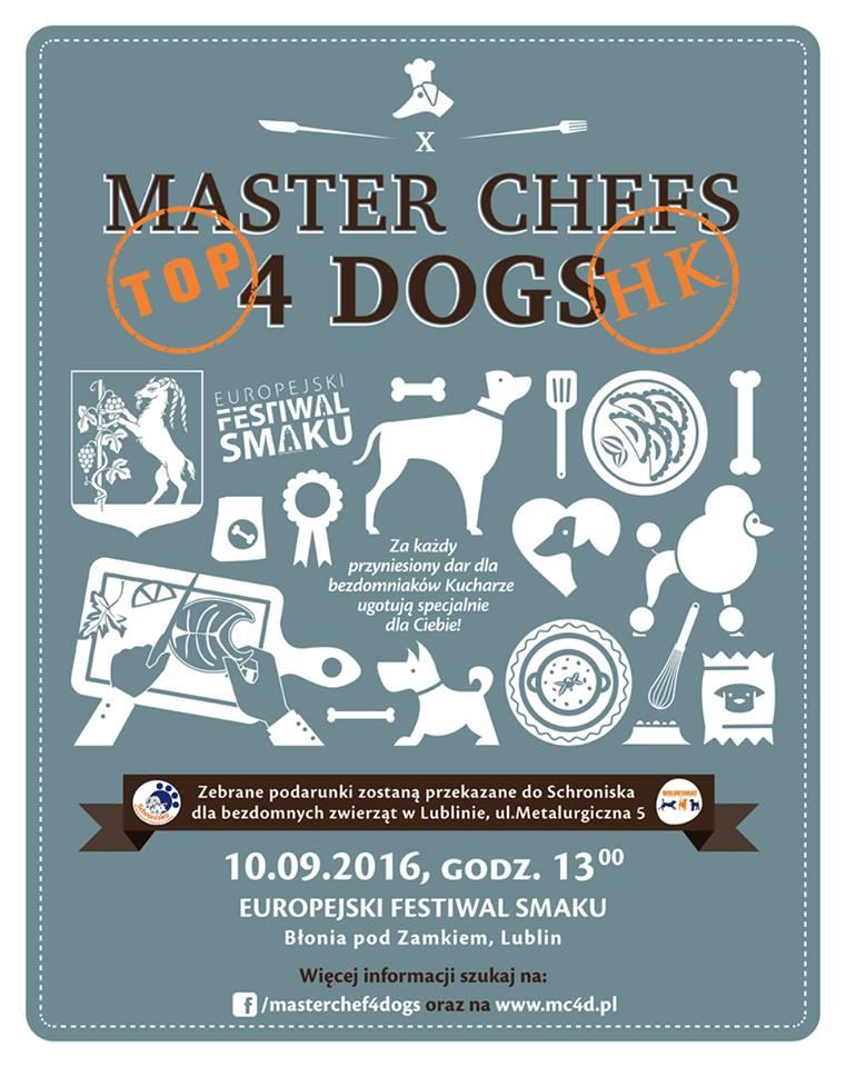 Master Chef 4 Dogs w Lublinie już 10 września!
