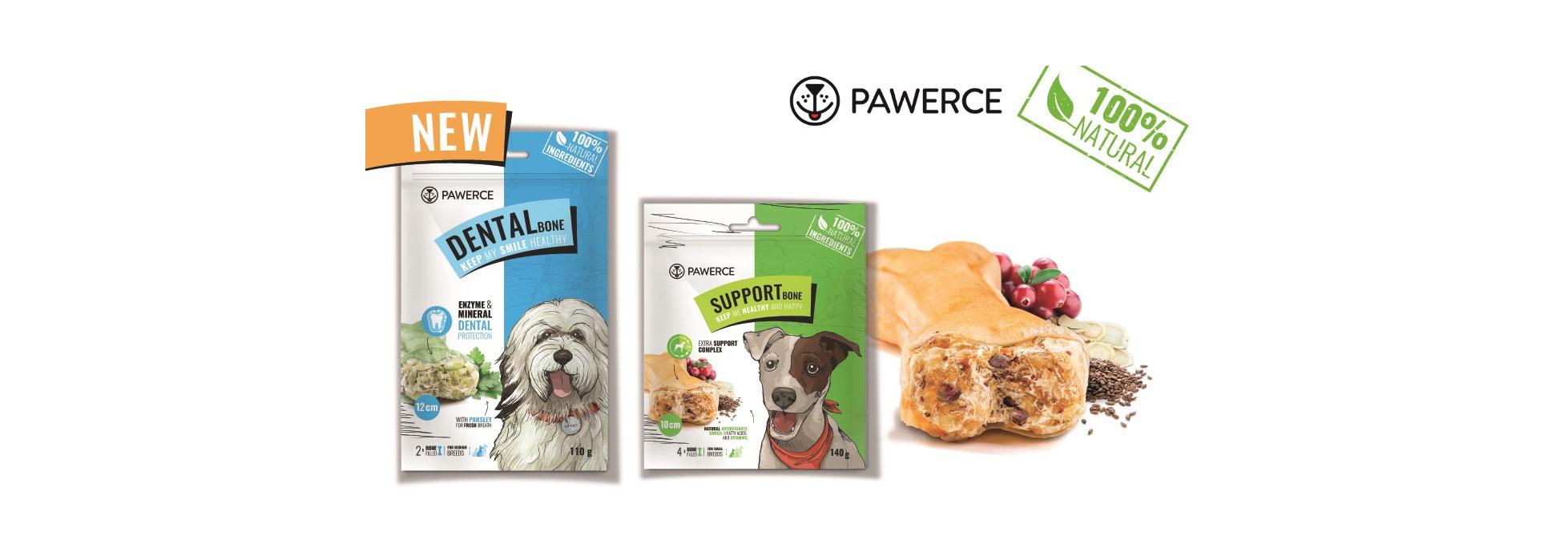 NOWOŚĆ! Kości ibatony dla psów marki PAWERCE