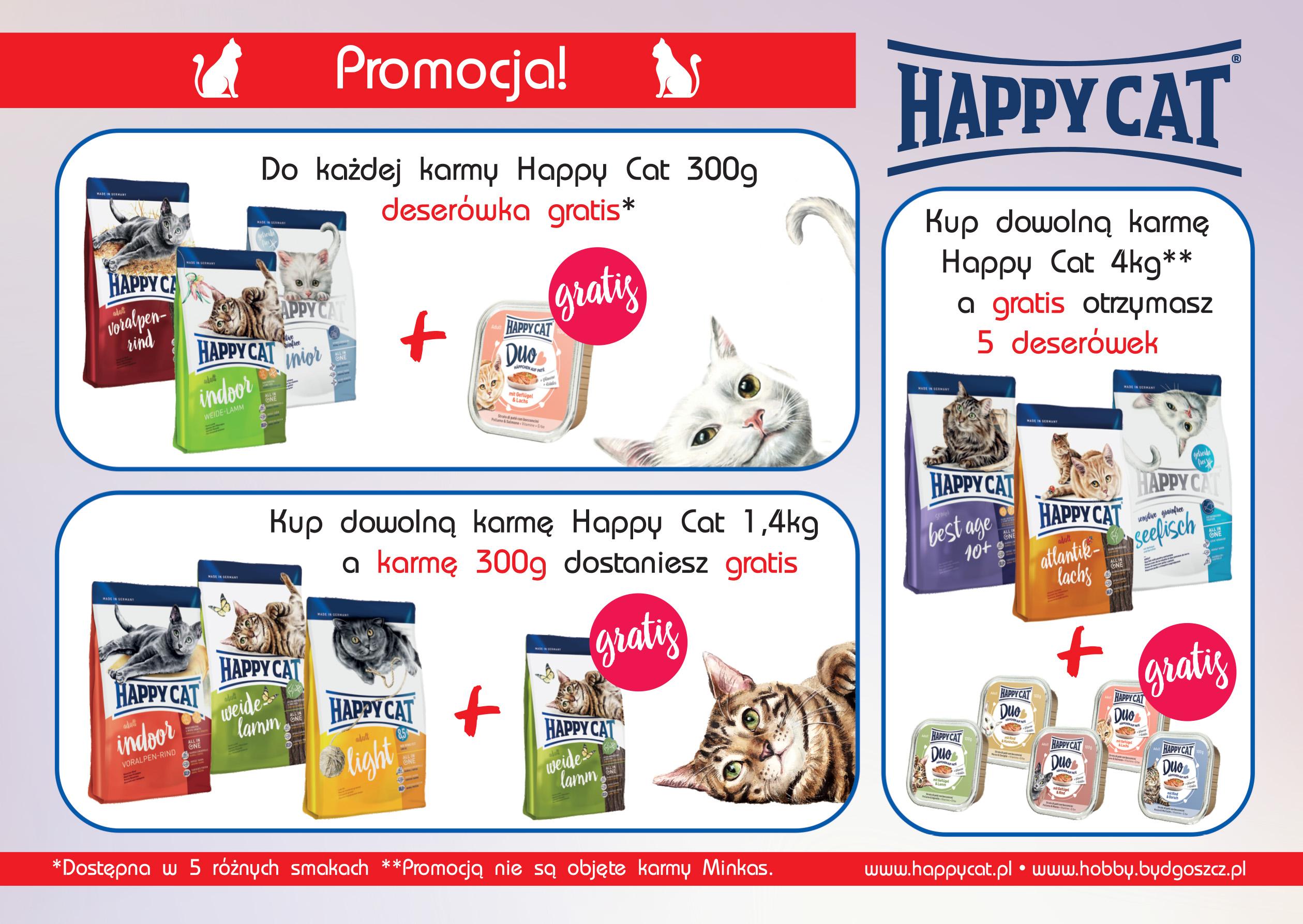 Promocje od Happy Cat!