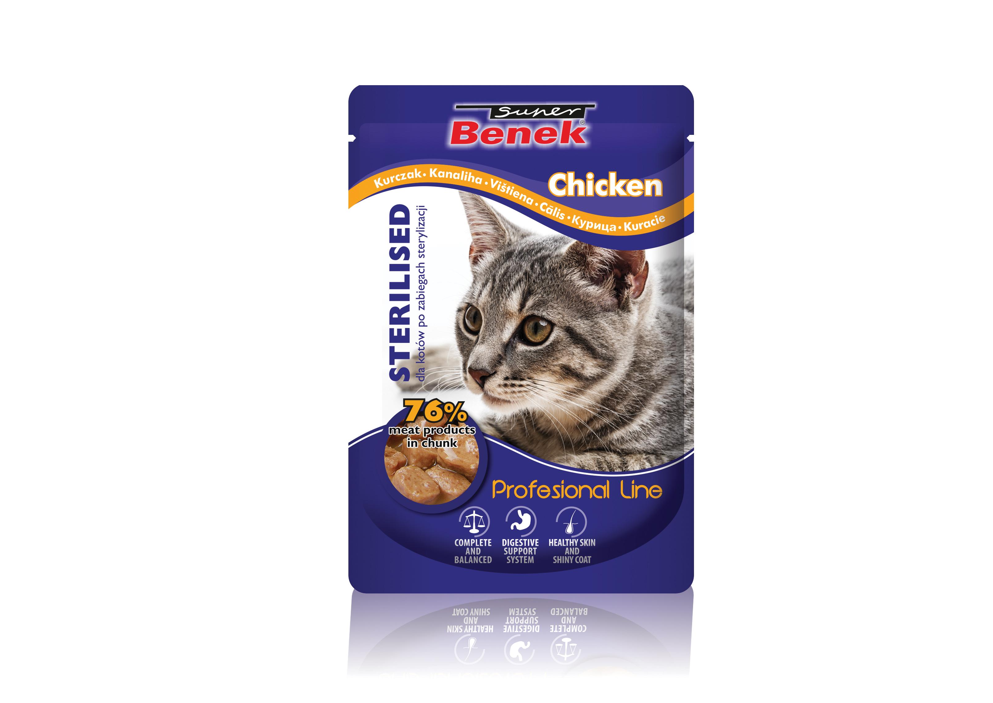 SUPER BENEK Karma dla kotów sterylizowanych zdrobiem!