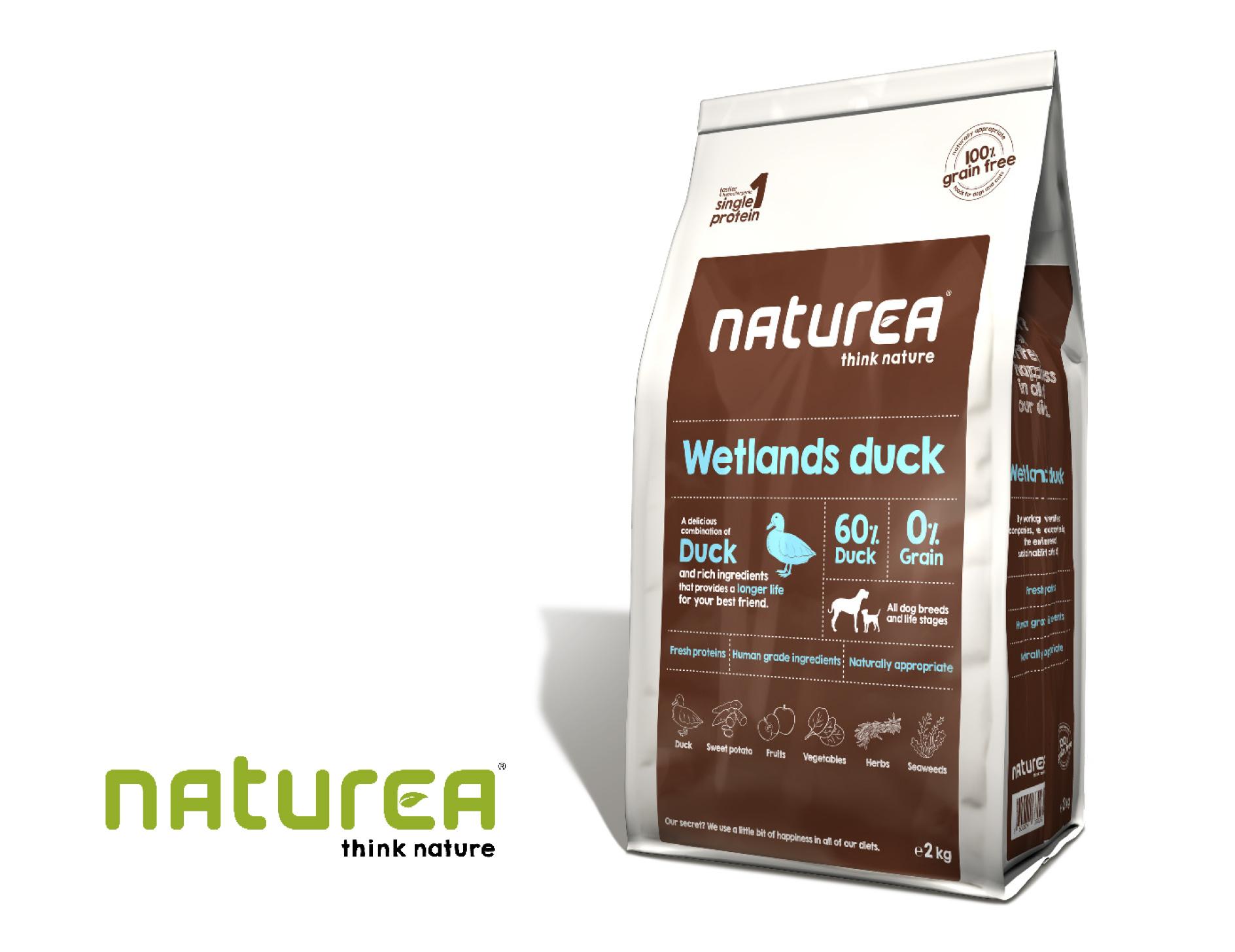 Naturea Wetlands duck zawiera aż 60% kaczki!