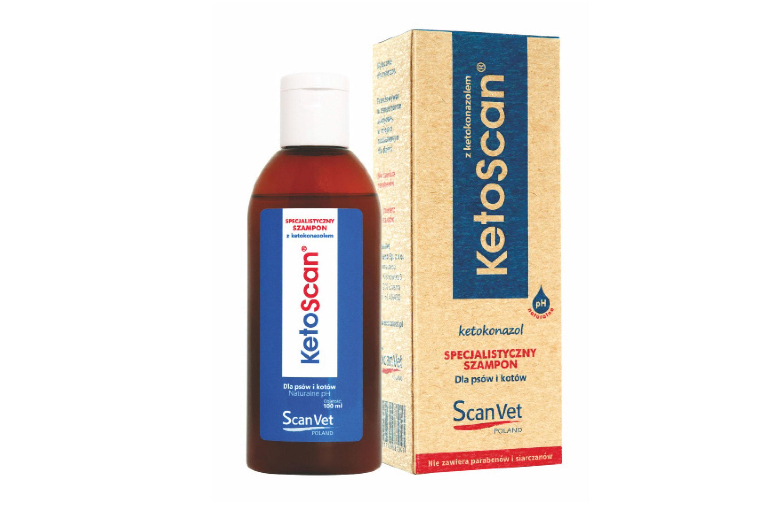 KetoScan – szampon dermatologiczny  dla psów ikotów