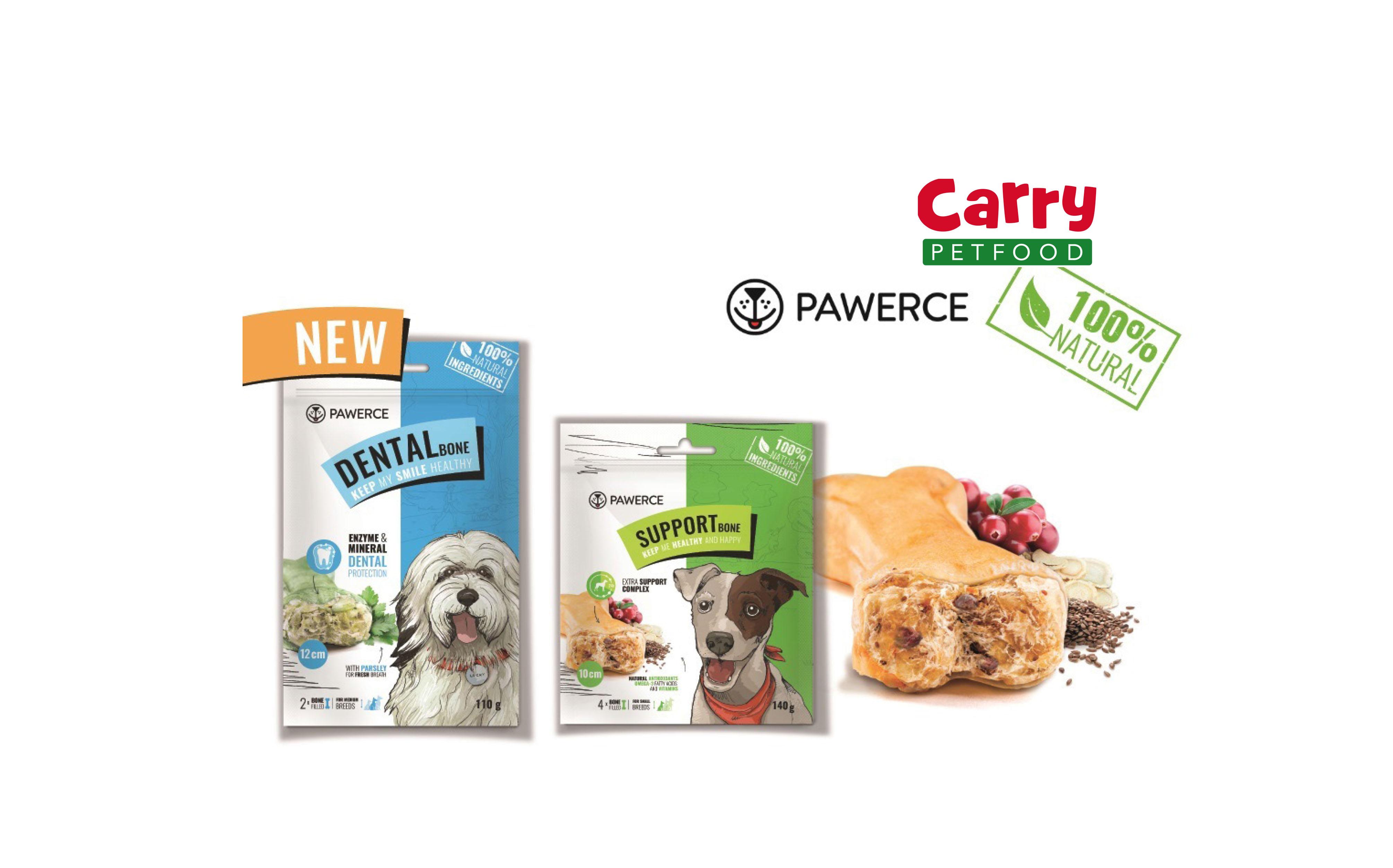 Producent Carry Pet Food buduje sieć dystrybucji dla gryzaków  marki Pawerce