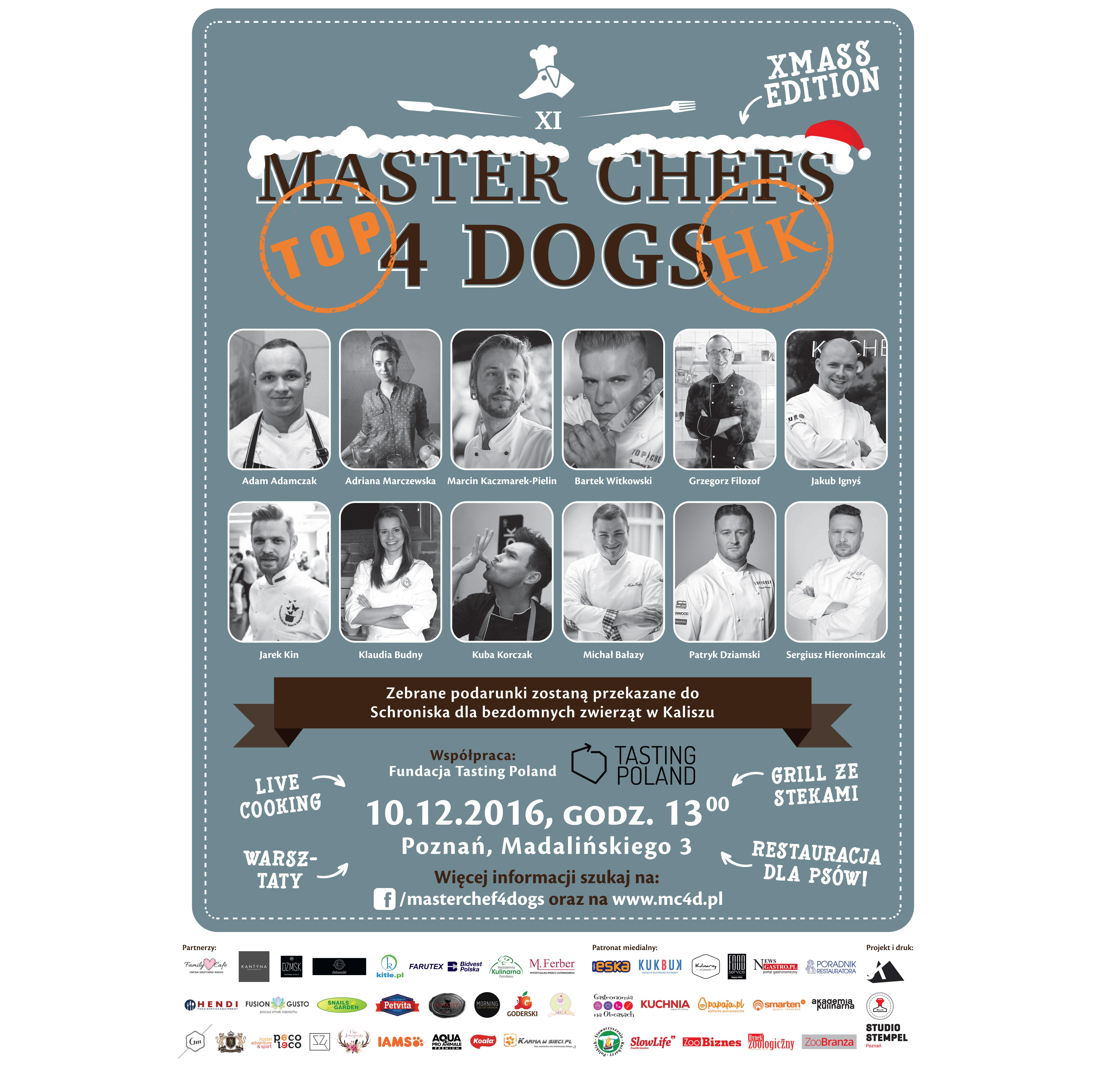 MASTER CHEFS 4 DOGS w Poznaniu