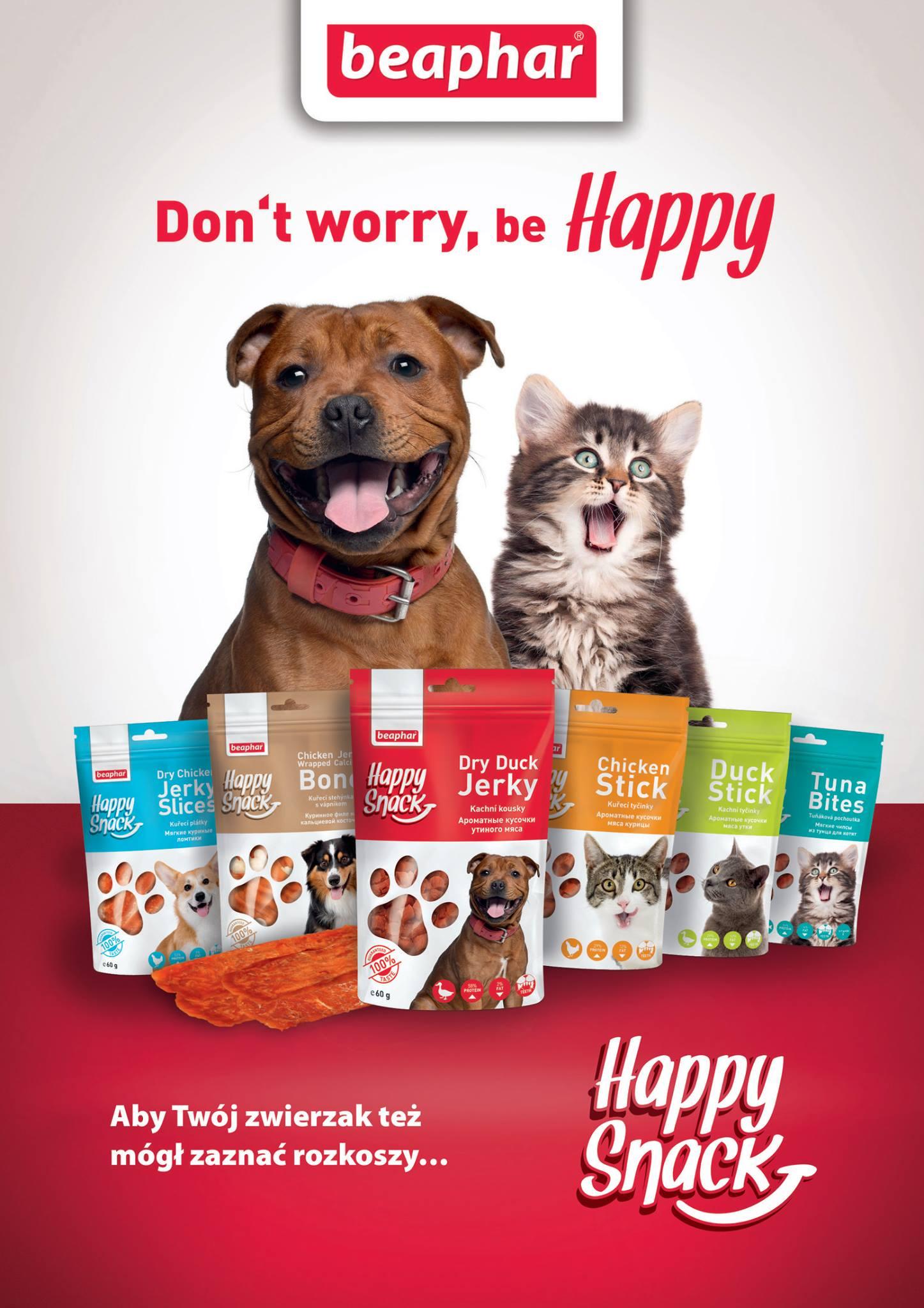 Happy Snack – przysmaki dla psów i kotów