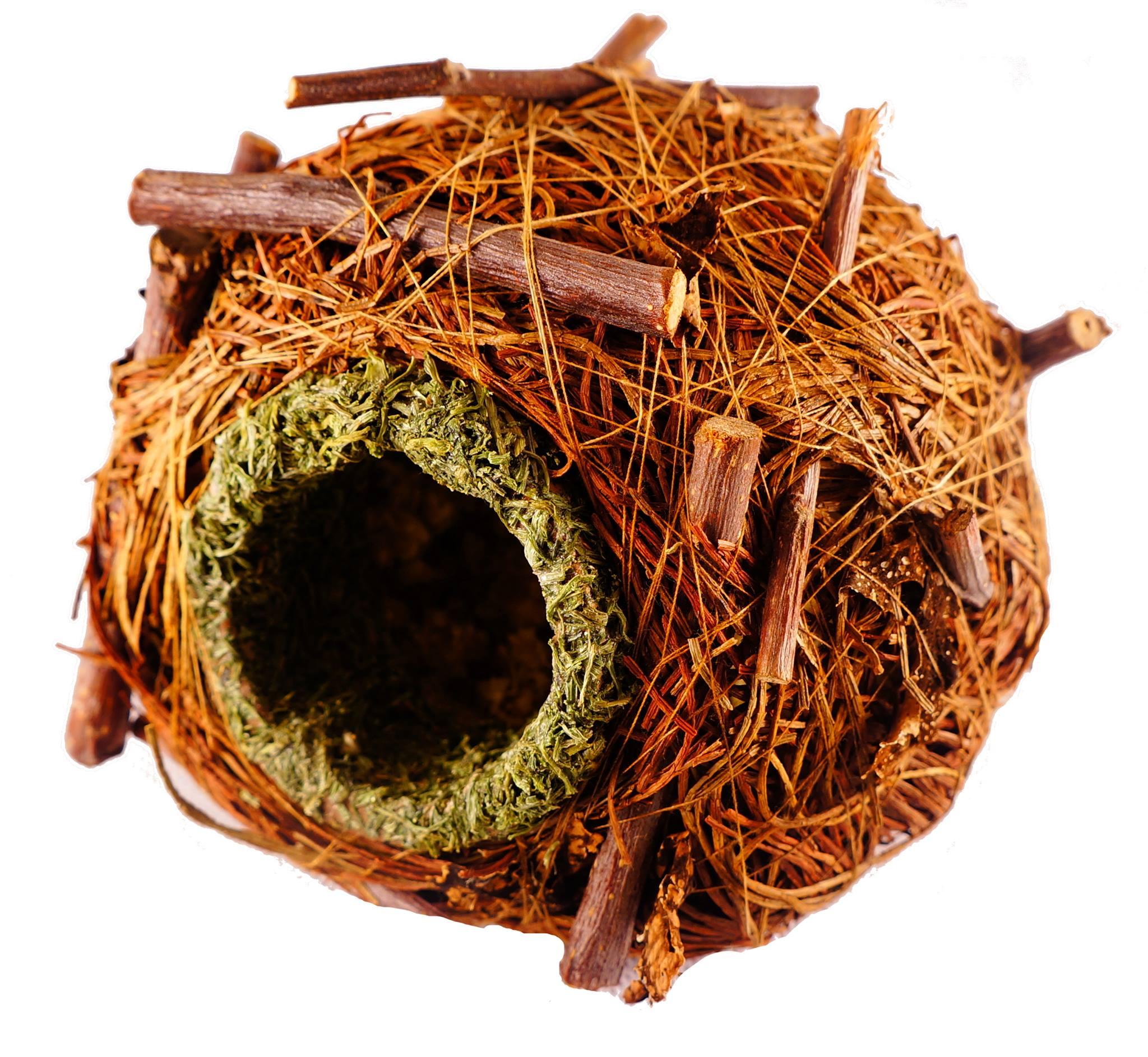 Naturalne gniazdo dla gryzoni firmy Ham–Stake
