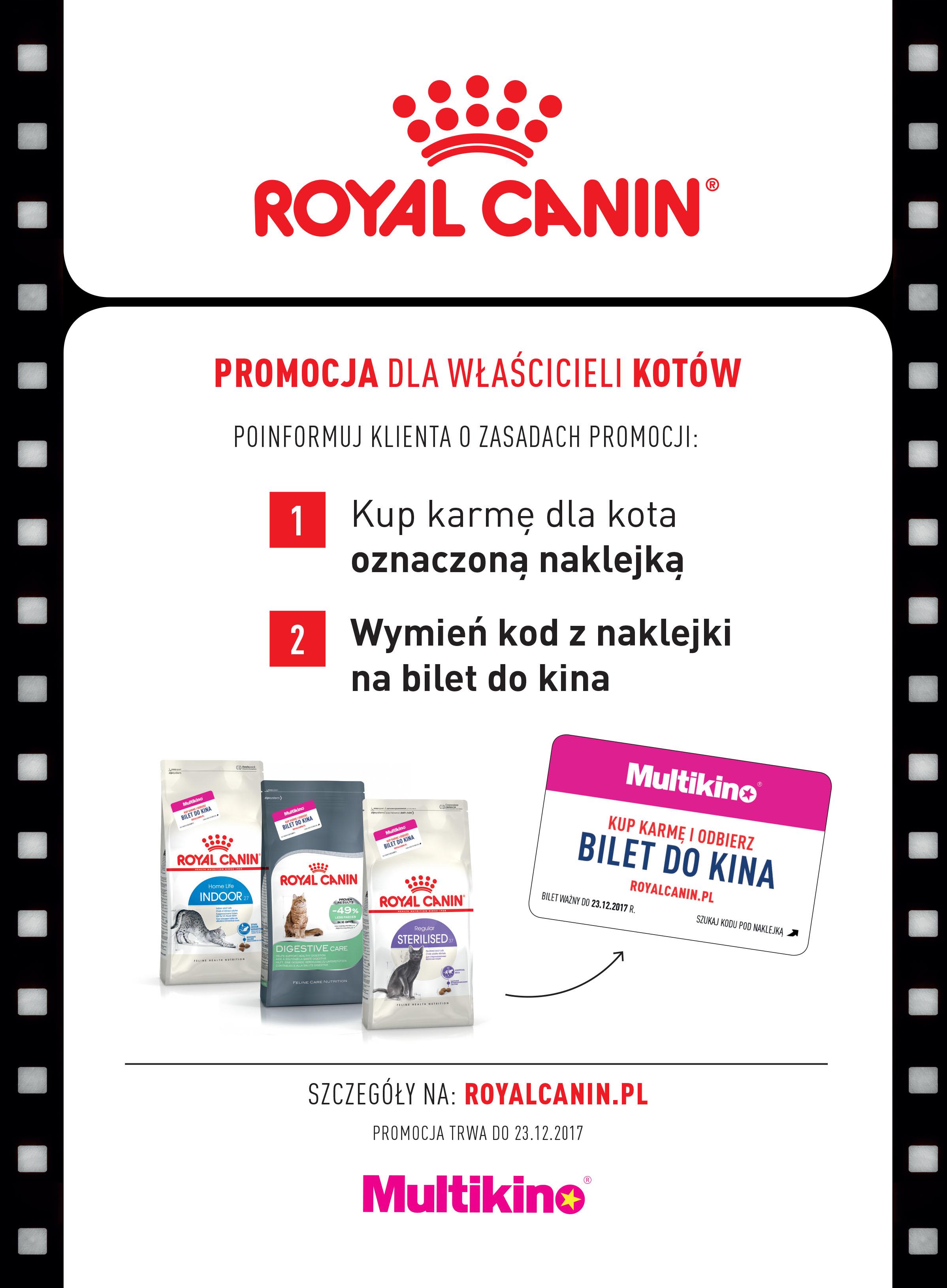 Filmowe lato z Royal Canin