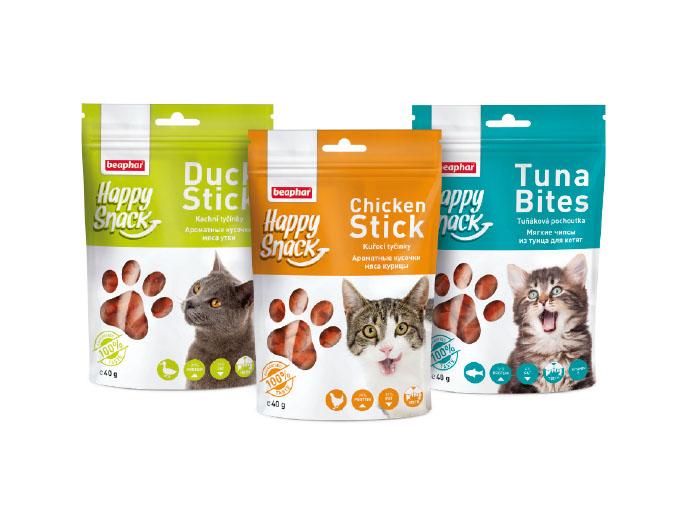 Happy Snack – rarytasy dla kotów