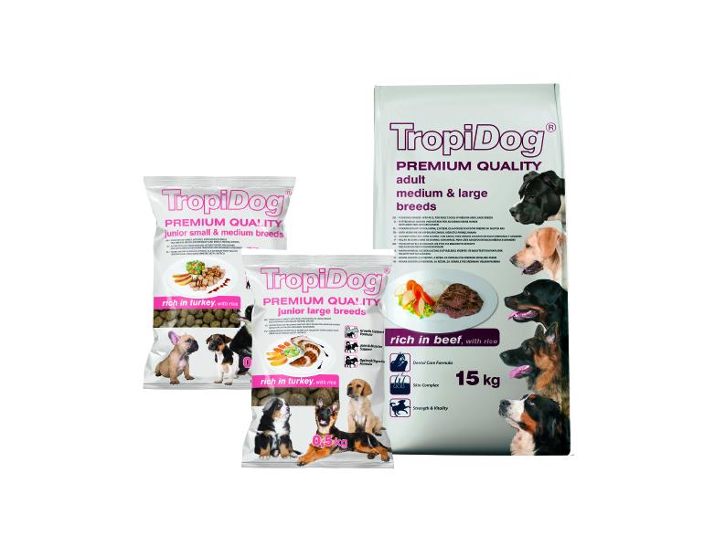 Linia TropiDog Premium