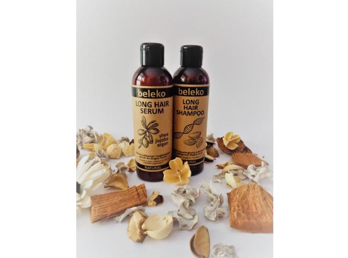 Naturalny szampon iodżywka Beleko LONG HAIR
