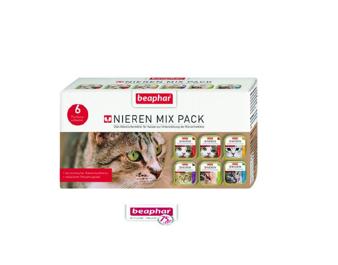 Nieren Mix Pack – kompletna karma o 5 wyśmienitych smakach dla kotów z niewydolnością nerek