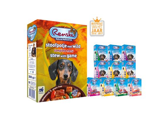 Renske Dog Adult fresh game – świeża dziczyzna – bezzbożowa mokra karma dla psów