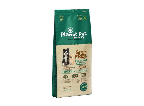 Planet Pet Grain Free karma superpremium  z jagnięciną i ziemniakami dla psów dorosłych