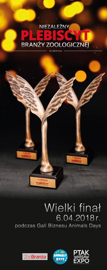 Zgłoś kandydatów w Plebiscycie ZooBranży i wygraj nagrodę!