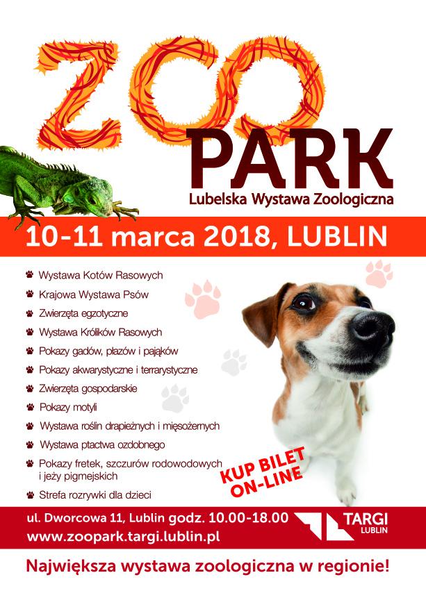 Lubelska Wystawa Zoologiczna ZOO PARK już 10-11 marca w Lublinie!