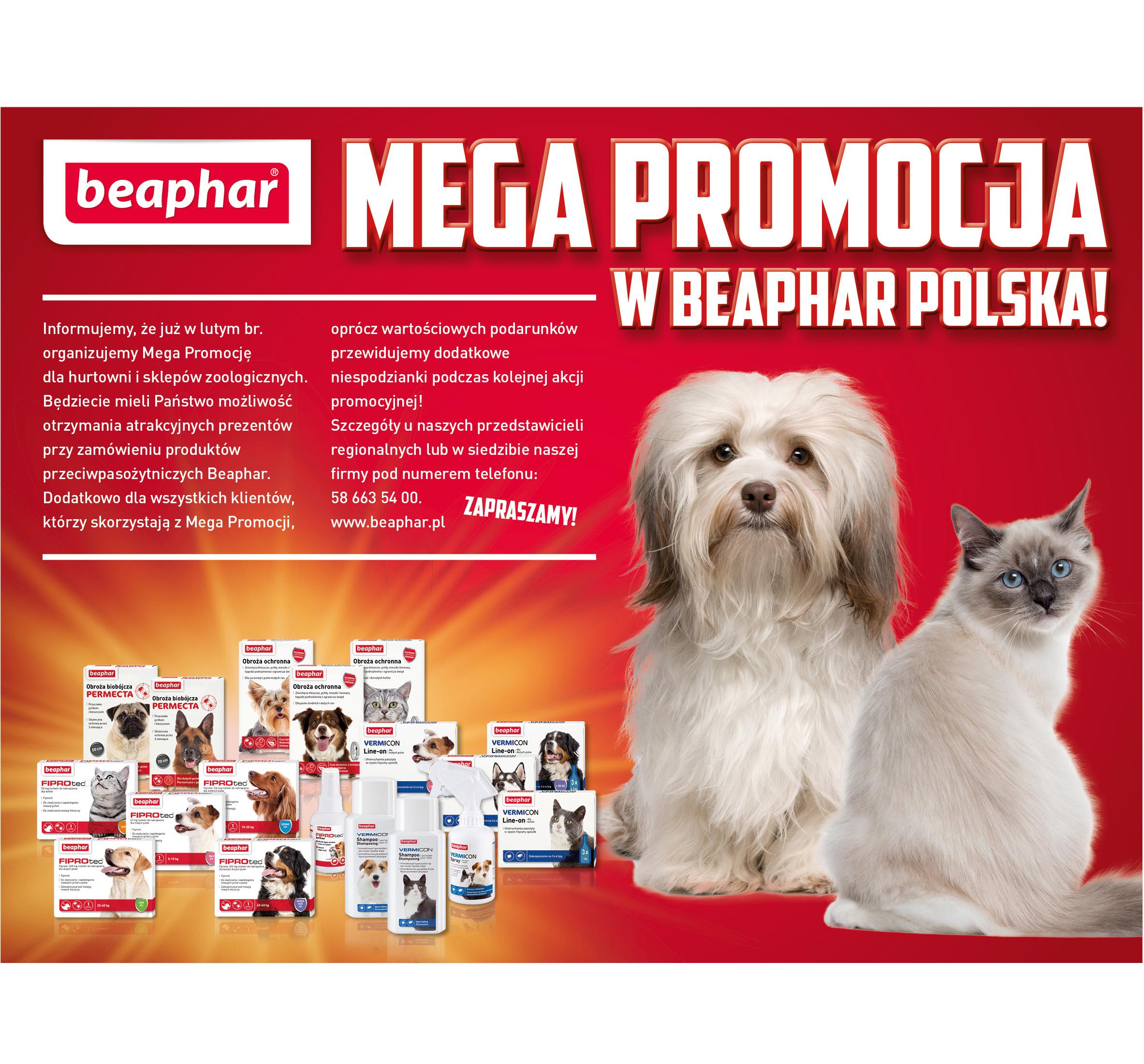 Mega promocja w Beaphar Polska!