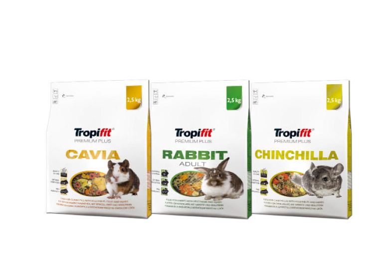 Tropifit Premium Plus teraz także wopakowaniach 2,5 kg
