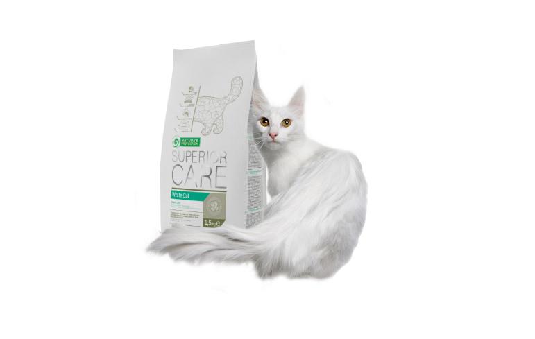 Nowa karma dla białych kotów  – Nature's Protection Superior Care White Cat