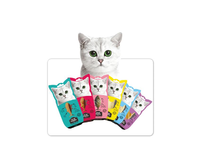 KOCIE ŁAKOCIE – przysmaki dla kotów w100% zmięsa