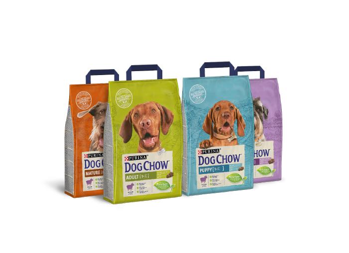 PURINA® DOG CHOW® nowość – naturalnie dopasowane żywienie