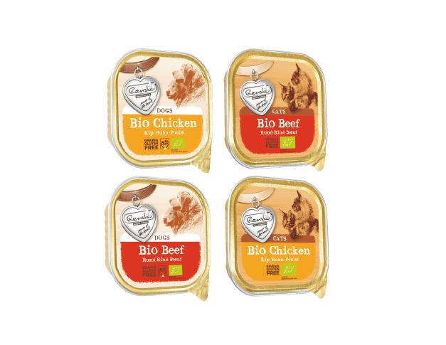 Renske – BIO wołowina iBIO kurczak – karmy w100% organiczne dla psów ikotów