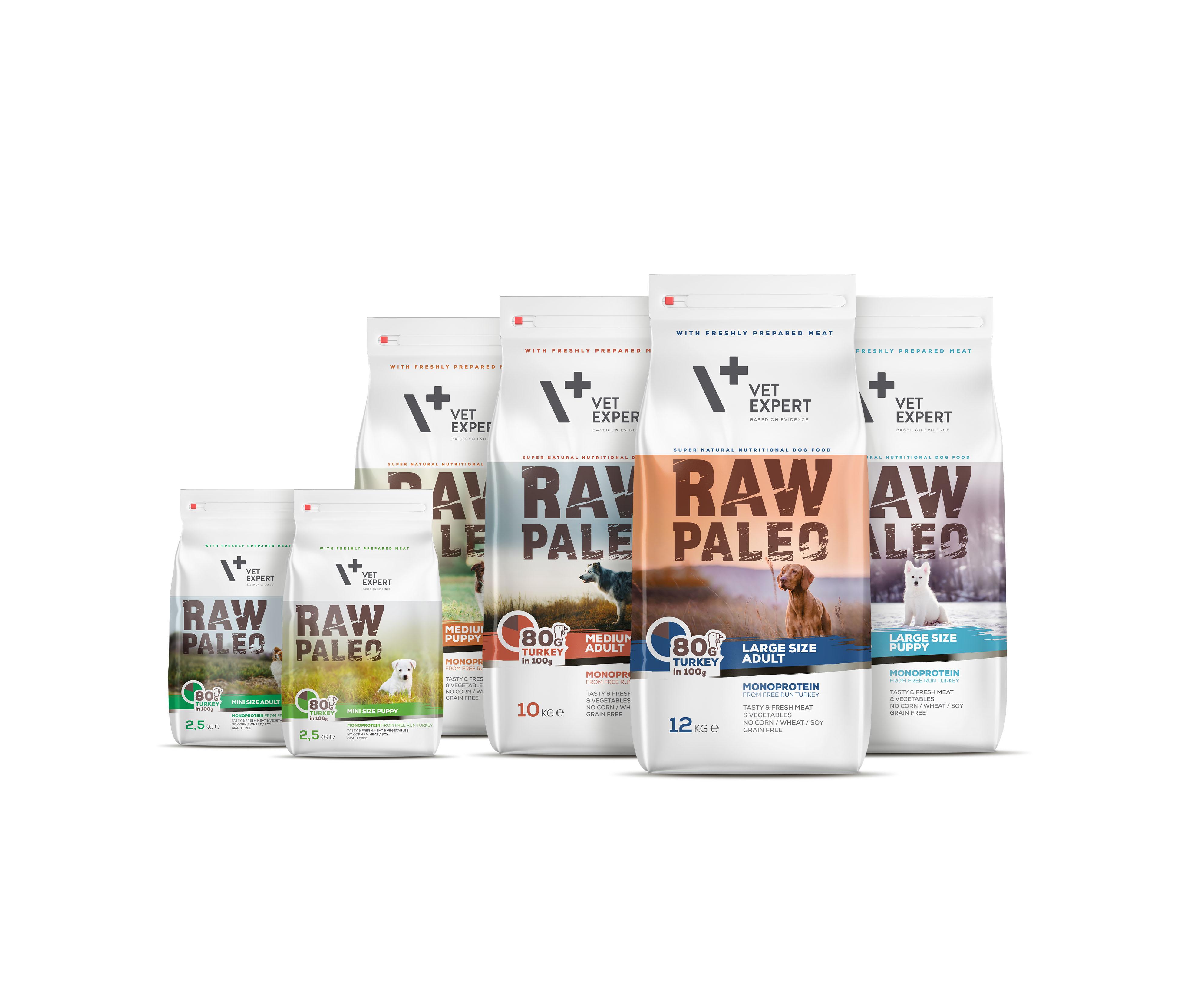 Producent VetExpert wprowadza linię karm dla psów – RAW PALEO