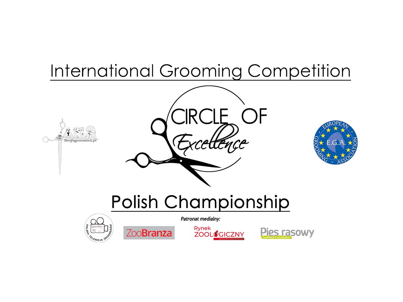 """Międzynarodowy Konkurs Groomingu """"Circle of Excellence"""""""