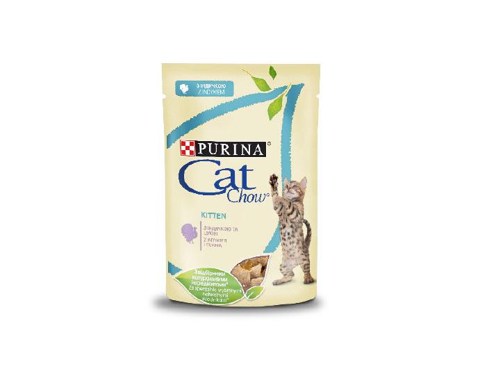 Danie na jeden raz – saszetka dla kociąt PURINA® CAT CHOW®