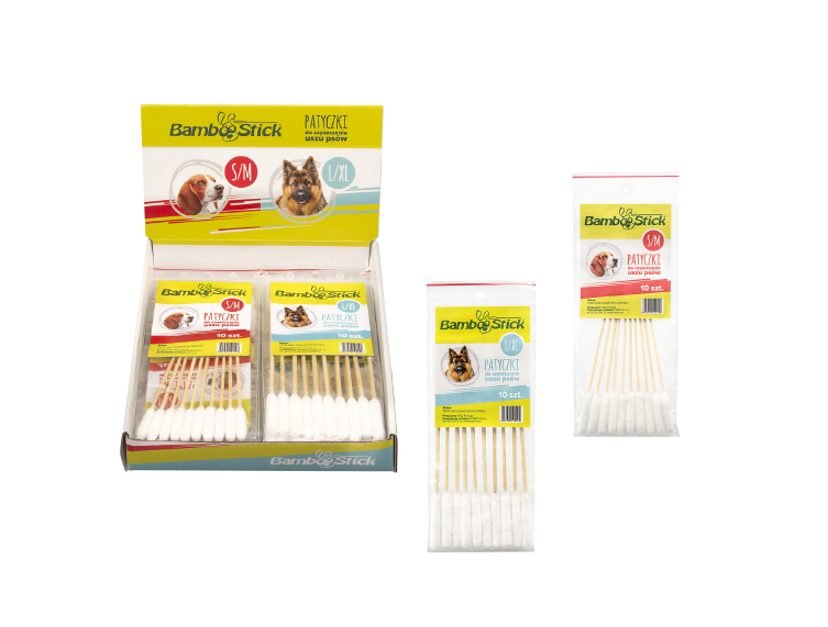 Patyczki do uszu BambooStick®