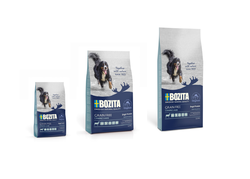 BOZITA Dog Grain Free Lamb Single protein
