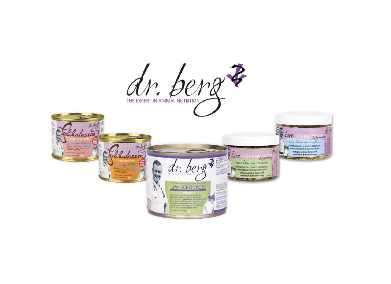 Dr. BERG – dieta dla wybrednych i wrażliwych kotów