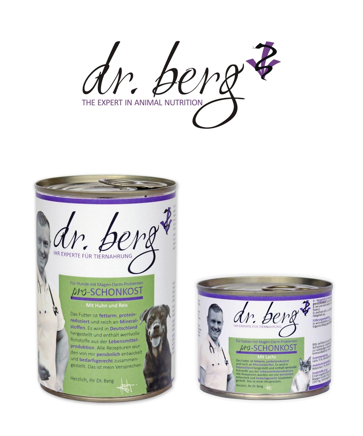 Dr BERG – pomoc dla psów  i kotów z problemami żołądkowo-jelitowymi