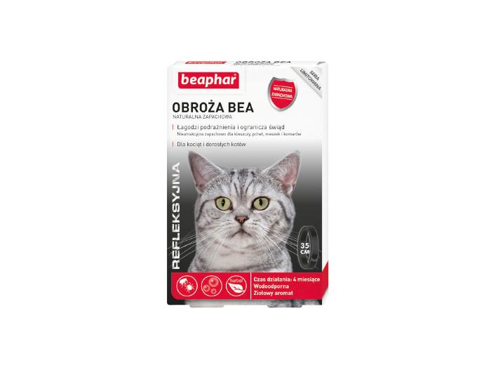 Refleksyjna Obroża Bea dla kotów