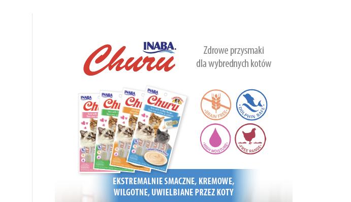 Przysmaki dla wybrednych kotów Churu
