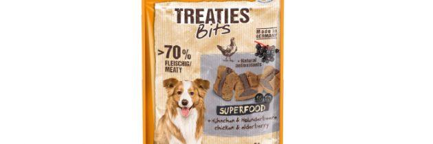 TREATIES BITS superfood! Nowe przekąski dla psa zdodatkiem superfood wreszcie dostępne!