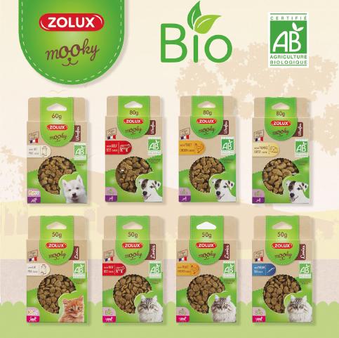 Nowa gama premium przysmaków Mooky od Zolux!