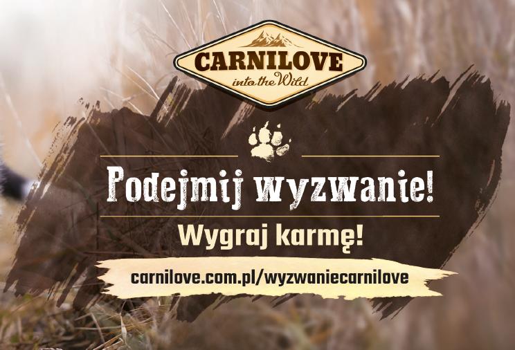 Zgłoś swojego zwierzaka i podejmij wyzwanie z Carnilove Polska!
