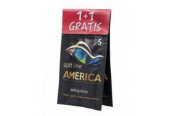 Promocja! 1+1 GRATIS! Teraz dwie saszetki (2 x 10 g) Soft Line America size S kupisz w cenie jednej!