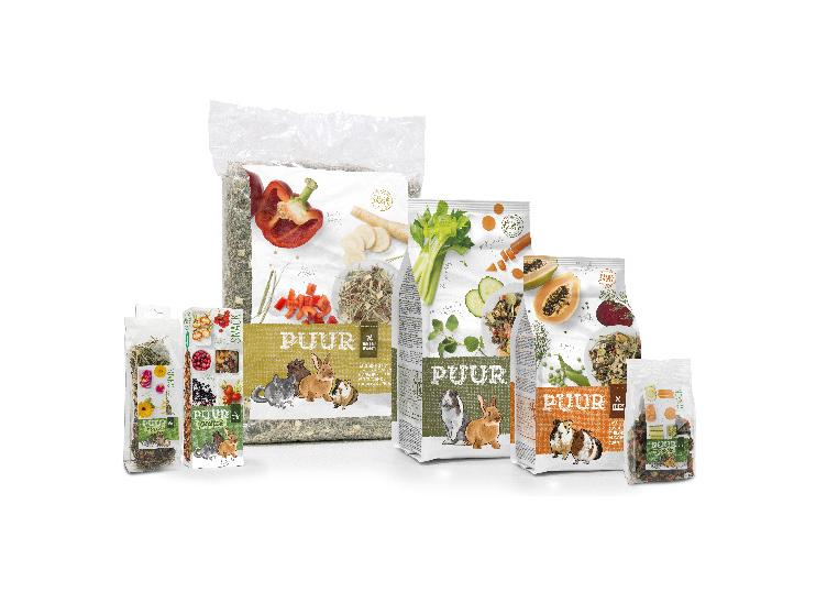 Naturalne karmy Witte Molen dla królików, gryzoni i ptaków