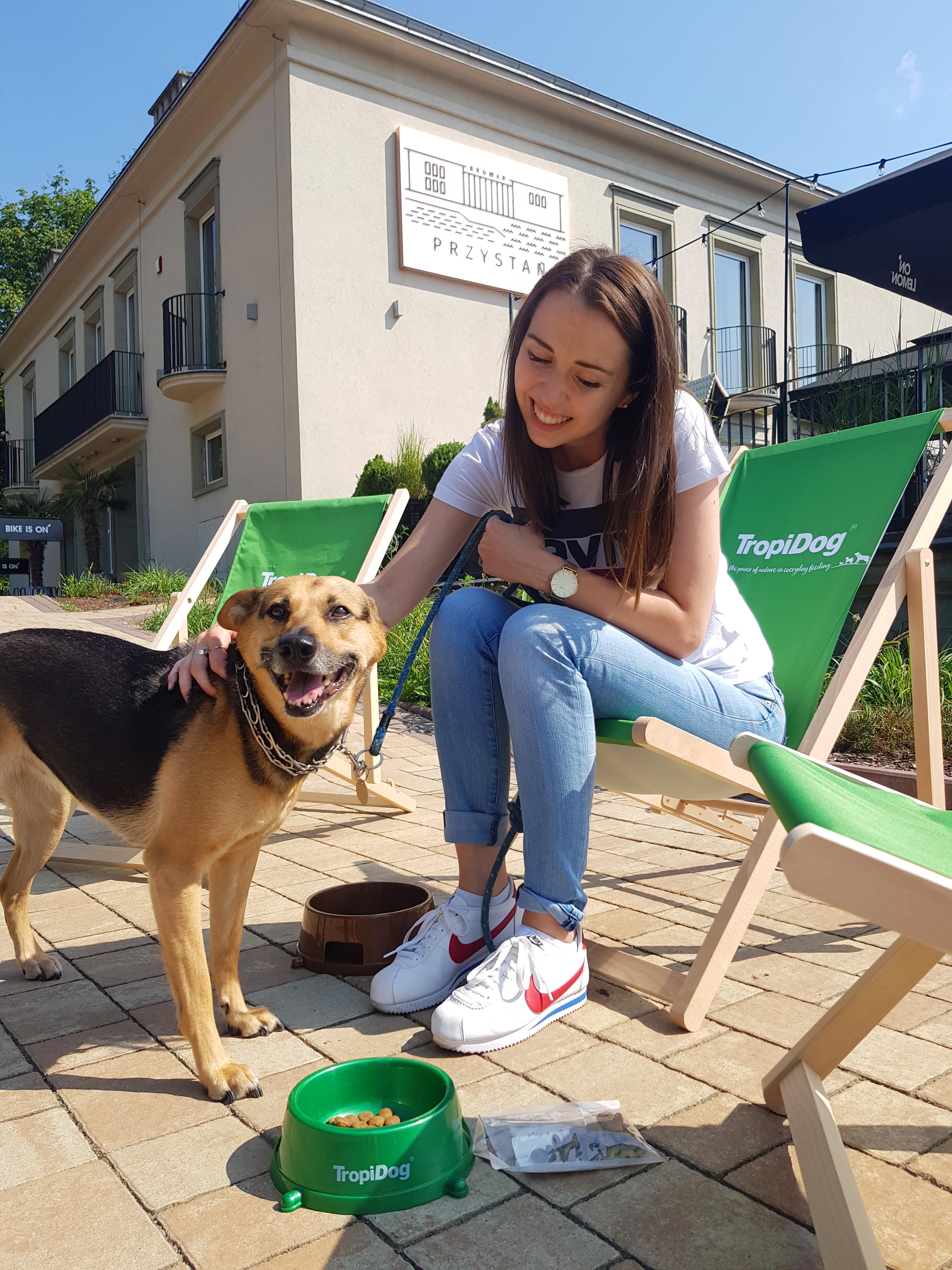 Strefa relaksu i menu dla psów od TropiDog