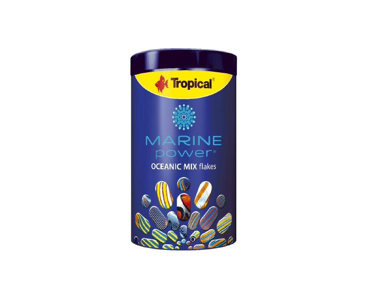 Nowość! Pokarm wformie płatków dla ryb morskich – OCEANIC MIX flakes