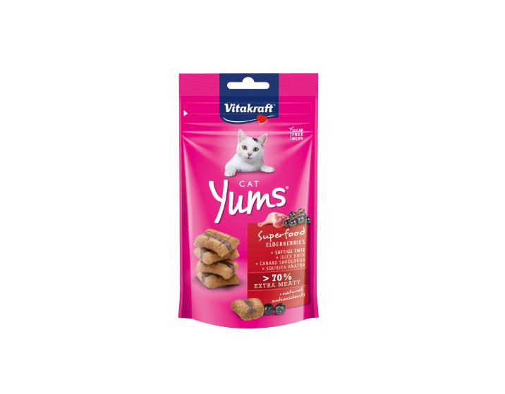 Cat Yums® Superfood czarny bez