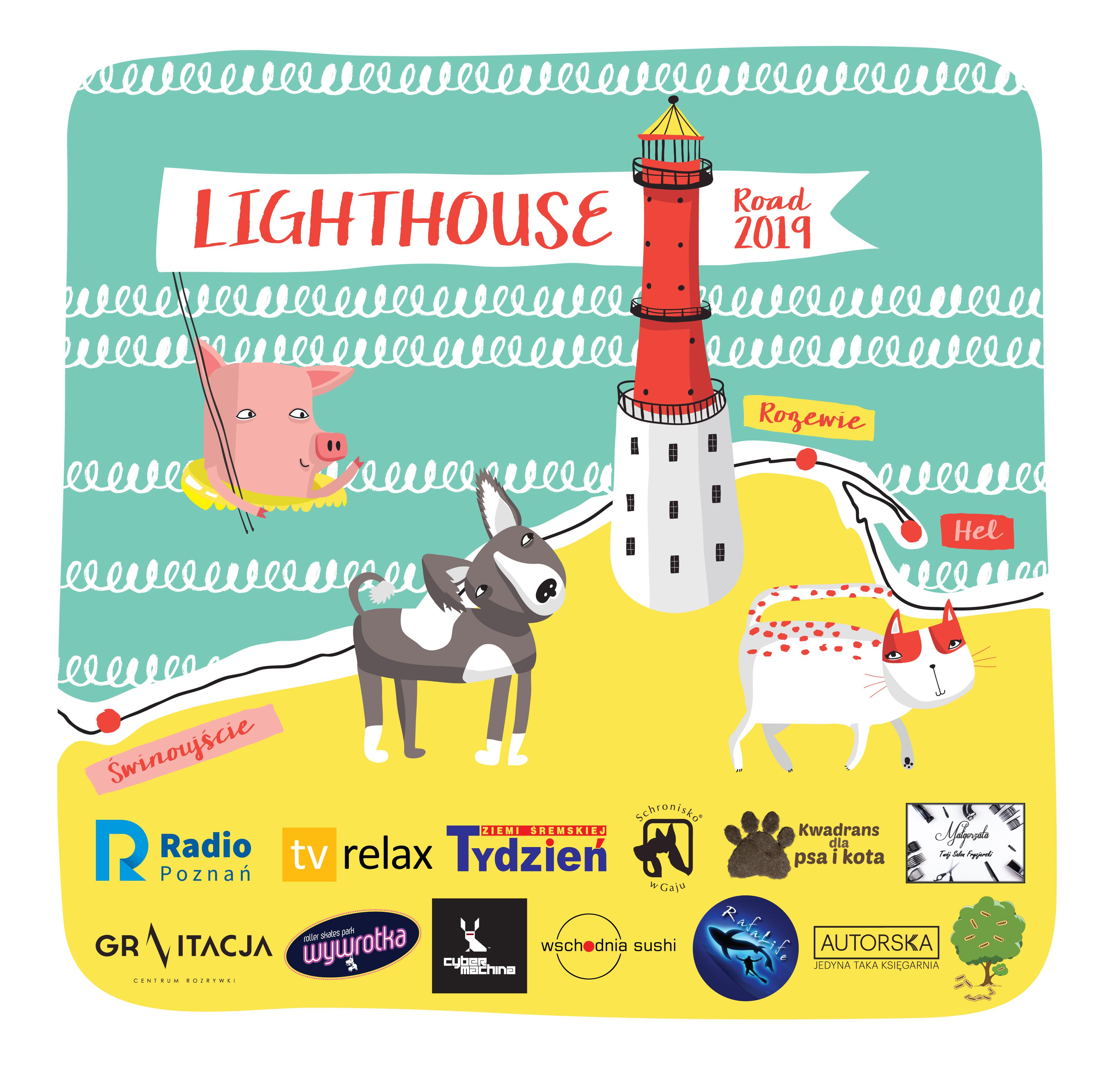 Lighthouse Road 2019 dla schroniska w Gaju!